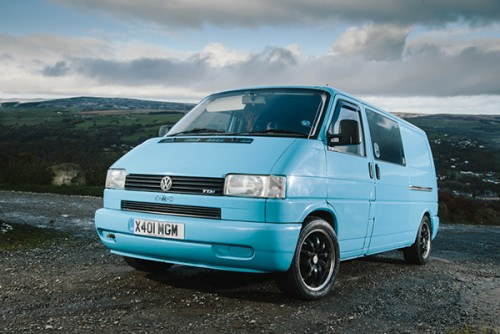 A VW T4 Campervan called Cliff and Cliff on the Road for hire in leeds, West Yorkshire