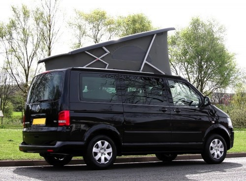 A VW T5 California Campervan called Kit and Kit for hire in derby, Bedfordshire