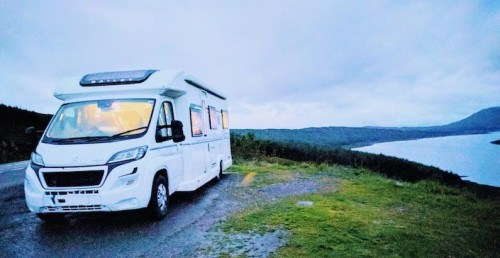 A Low Profile Motorhome called Rooster and Wild Camping in Scotland for hire