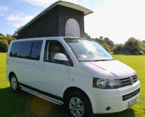 A VW T5 Campervan called GrapeT5 and With Pop for hire in chelmsford, Essex