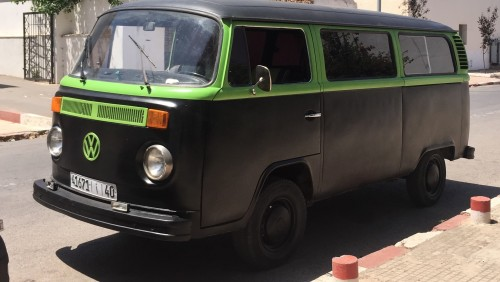 A VW T2 Classic Campervan called Prince and Face of Prince... for hire in southall, Morocco