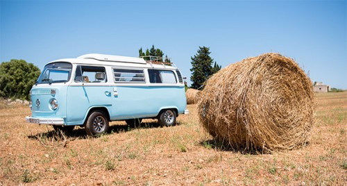 A VW T2 Classic Campervan called BlueVicky and Blue Vicky... for hire in mallorca, Spain
