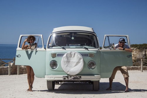 A VW T2 Classic Campervan called Mintymatilda and Minty... for hire in faro, Portugal