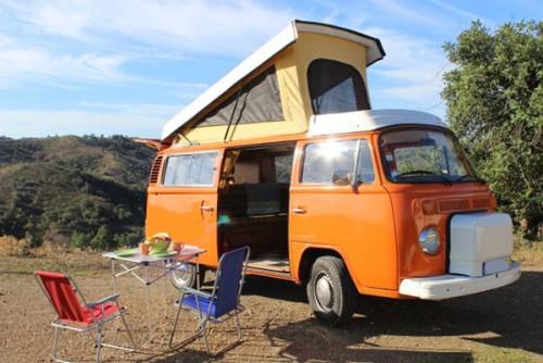 A VW T2 Classic Campervan called Saffron and Saffron... for hire in faro, Portugal