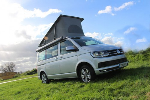 A VW T5 California Campervan called Hilda and Hilda... for hire in lichfield, Staffordshire
