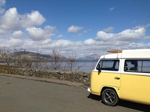 A VW T2 Classic Campervan called ColinT2 and Colin... for hire in matlock bath, Derbyshire