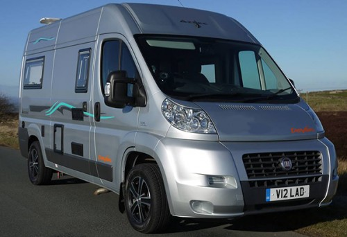 A Devon Motorhome called Devon-Aztec and Aztec for hire in wooldale, West Yorkshire