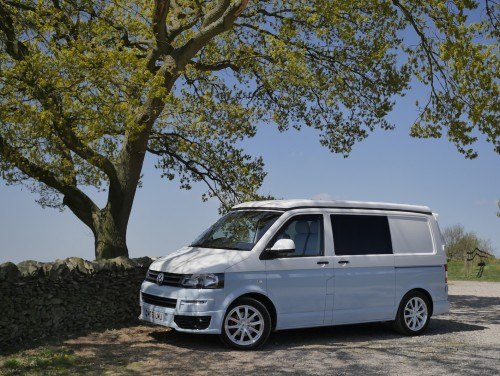 A VW T5 Campervan called Chyllis and Chyllis for hire in loughborough, Leicestershire