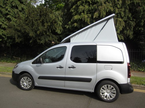 A Micro Campervan called Mira-Micro and Mira roof open for hire in edgware, Bedfordshire