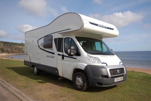 A Swift Motorhome called Helga6 and Helga.... for hire in fortrose, Highland