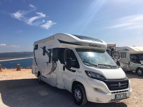 A Chausson Motorhome called Flash624 and Flash... for hire in vilnius, Lithuania