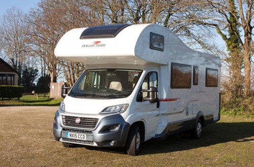 A Roller team Motorhome called Tline and Tline... for hire in hove, East Sussex
