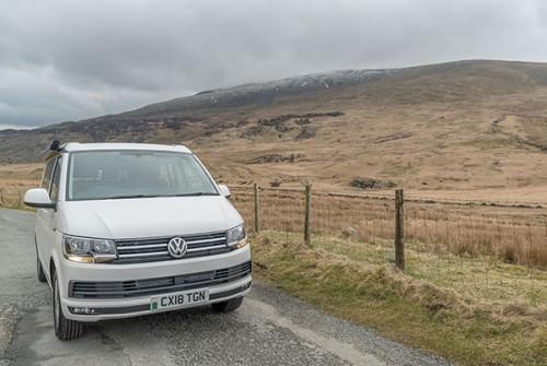 A VW T6 California Campervan called Atalie and Atalie.... for hire in dyffryn ardudwy, Gwynedd