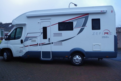 A Roller team Motorhome called BertieMotor and Rroller for hire in midlothian, Scotland