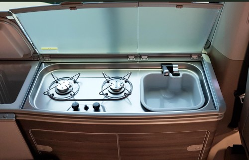 Ruby Cooker and Sink