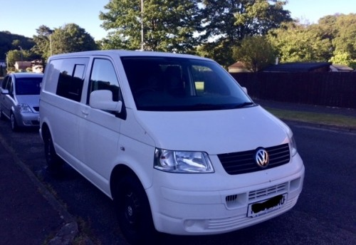 A VW T5 Campervan called Cuillin and Cuillin the Camper for hire in dalkeith, Edinburgh