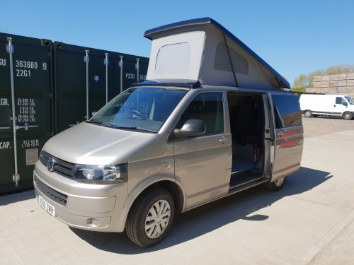 A VW T5 Campervan called KeithT5 and With Pop. for hire in chichester, West Sussex