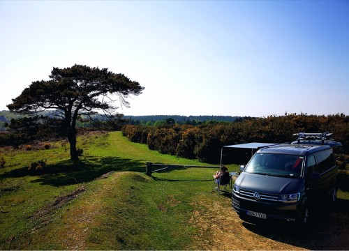 A VW T6 Campervan called WoodyT6 and New Forest for hire in loughborough, Leicestershire
