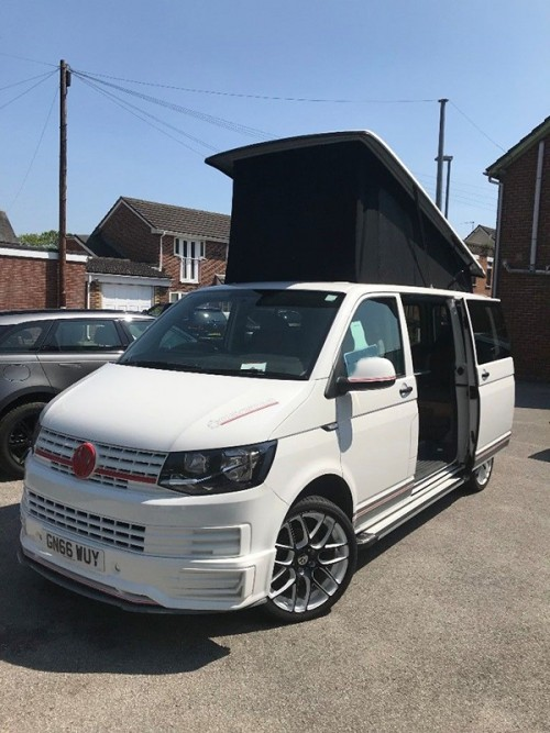 A VW T5 Campervan called Nero and Nero... for hire in wimborne, Dorset