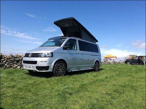 A VW T5 Campervan called Bertie140 and Bertie... for hire in coalville , Leicestershire