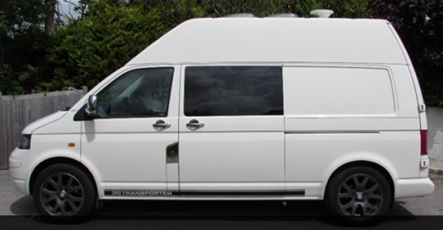 A VW T5 Campervan called Valantre and Valantre... for hire