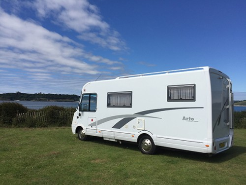A Niesmann Bischoff Motorhome called Ema and Ema the Motorhome for hire in ladock, Cornwall