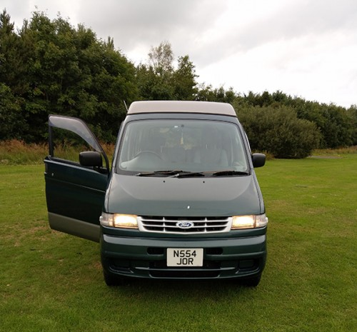 A Ford Campervan called Freedabongo and The Van... for hire in east kilbride, Lanarkshire
