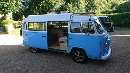 A VW T2 Brazilian Campervan called Boo and Boo the Van... for hire in lindfield, West Sussex