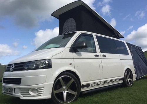 A VW T5 Campervan called Sunbeam and Sunbeam T5 for hire in sowerby bridge, West Yorkshire