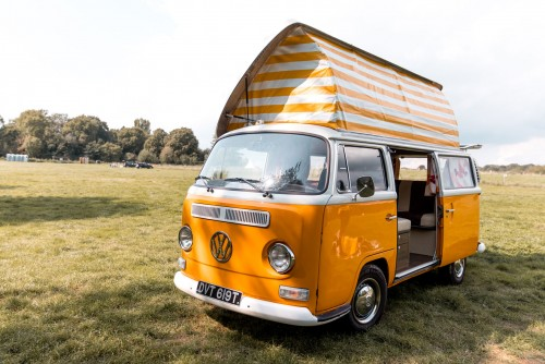 A VW T2 Classic Campervan called Meghan and Meet Meghan ... for hire in greenwich, London