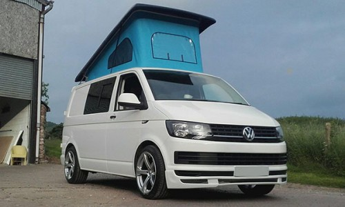 A VW T6 Campervan called Vallerie and Vallerie with Hat... for hire in monmouth, Monmouthshire