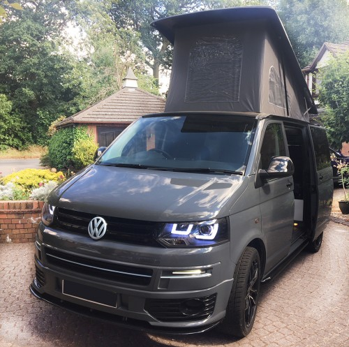 A VW T5 Campervan called Rosiebella and A real head turner for hire in kenilworth, Warwickshire