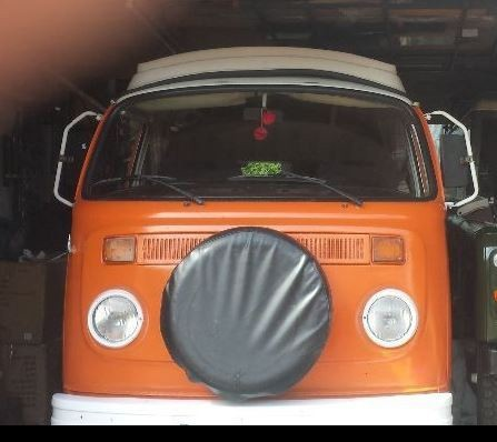A VW T2 Classic Campervan called Marigold and My Face... for hire in edinburgh, Edinburgh