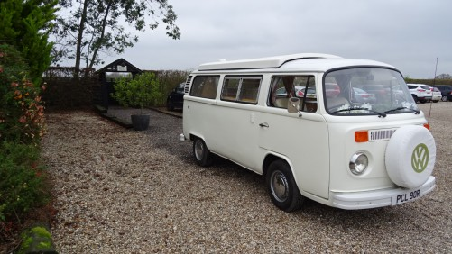 A VW T2 Classic Campervan called Ivy and Ivy for hire in Upminster, Essex