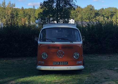 A VW T2 Classic Campervan called Donald and My Face... for hire in ashford, Surrey