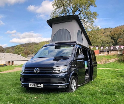 A VW T6 Campervan called Wilma and Wilma all set up. for hire in kendal, Cumbria