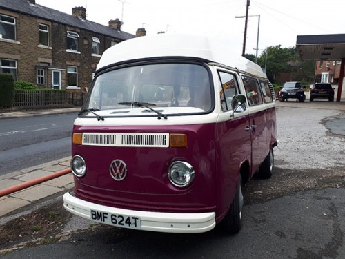 A VW T2 Classic Campervan called Bumfy and Bumfy... for hire in dewsbury - dewsbury, West Yorkshire
