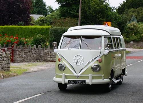 A VW T1 Splitscreen Campervan called Jessie and Jessie the Van... for hire in wrexham, Wrexham