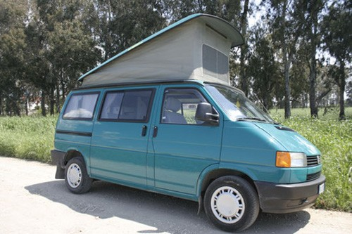 A VW T4 Campervan called Zilla and Zilla... for hire in gatteo, Italy