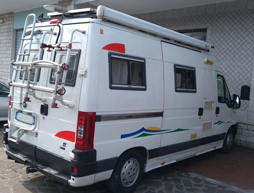 A Ducato Motorhome called Trigano and Trigano for hire in gatteo, Italy