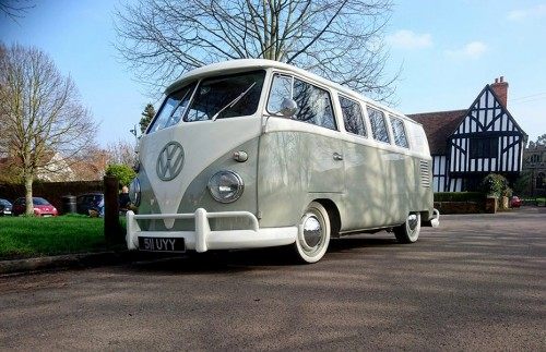 A VW T1 Splitscreen Campervan called AudreytheSplitScreen and 1961 VW Split Screen Camper for hire