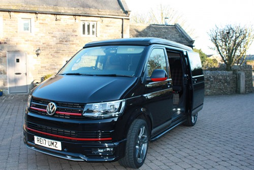 A VW T6 Campervan called Wilber and Wilber for hire in holmesfield, dronfield, Derbyshire