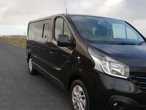 A Renault Campervan called Paddy and Paddy for hire in kendal, Cumbria