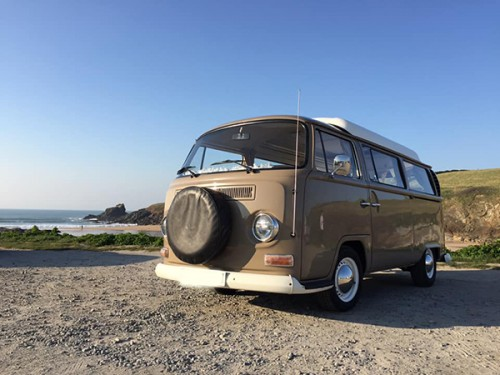 A VW T2 Classic Campervan called AlfieCamper and Alfie... for hire in bodmin, Cornwall