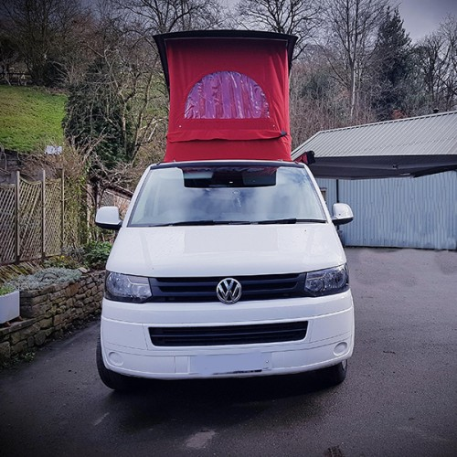 A VW T5 Campervan called Arthur and Arthur with Hat... for hire in macclesfield, Cheshire