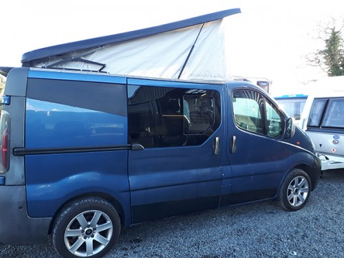 A VW T5 Campervan called Claude and Claude for hire in banbridge, Down