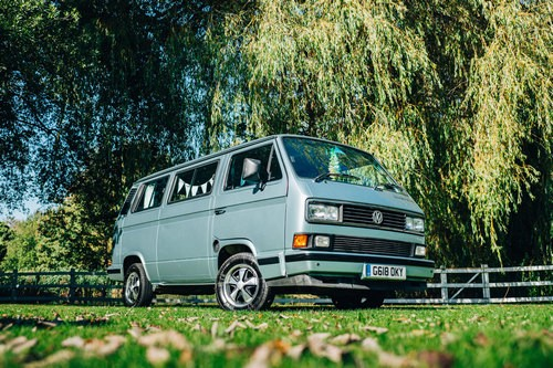 A VW T3 Campervan called Cookie and cookie for hire in braintree, Essex