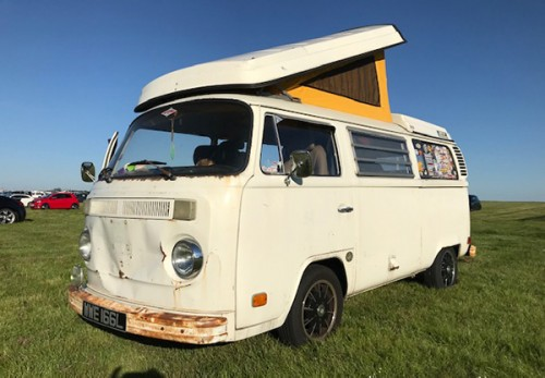 A VW T2 Classic Campervan called Bear and Im Bear for hire in luton, Bedfordshire