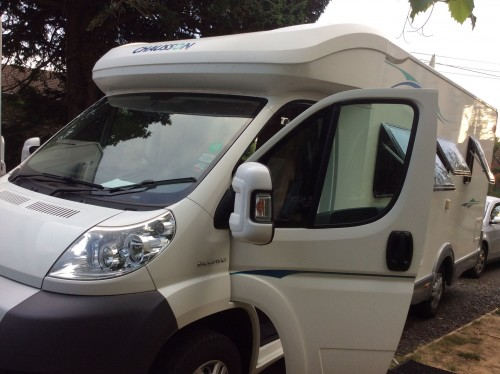 A Chausson Motorhome called Chausson-Flash08 and Flash08 for hire in woodbridge, Suffolk