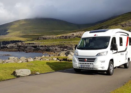 A Burstner Motorhome called Enid and Enid for hire